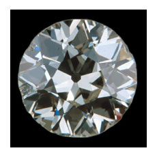 248 European Cut Diamond 248