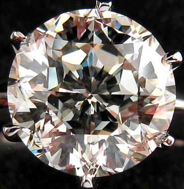 gabrielle round cut diamond